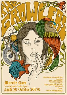 The Growlers - http://www.gigposters.com/poster/171528_Cavemen_Five.html