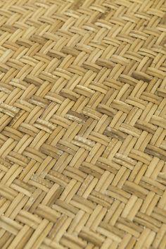 Børge Mogensen side tables in woven cane at Studio Schalling