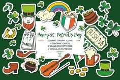 Happy St. Patrick's Day by Sofimix on @creativemarket