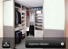 Closet, Home Decor, Armoire, Interior Design, Home Interior Design, Closets, Wardrobes, Closet Built Ins, Home Decoration