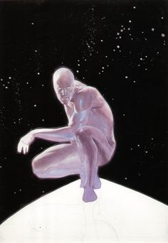Silver Surfer by Esad Ribic *