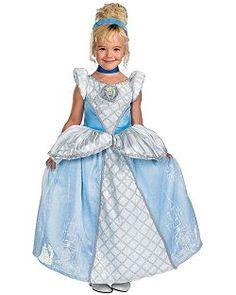 Girls Disney Prestige Cinderella Costume