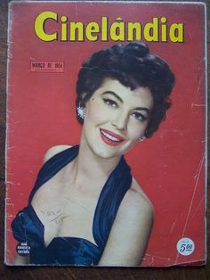 Ava Gardner Cinelandia Cover Magazine Brazilian Magazine March 1954   eBay