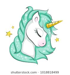 u AaCute magical unicorn. Vector design isolated on white background. Print for t-shirt or sticker. Romantic hand drawing for children. Unicorn Painting, Unicorn Drawing, Cartoon Unicorn, Unicorn Art, Magical Unicorn, Cute Unicorn, Rainbow Unicorn, Unicorn Pictures Cartoon, How To Draw Unicorn