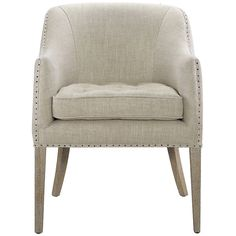 Curations Limited Ralf Linen Chair 7841.0087.A008