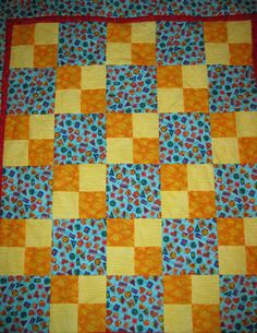 Baby quilt for charity