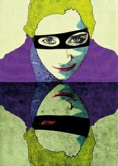 "Saatchi Art Artist Eugenia Bramanti; New Media, ""The disguised identities"" #art"