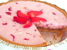 Cherry-Berry-Mousse-Tart.  Will def be making this.