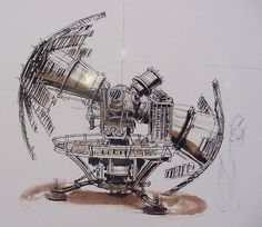 The Time Machine concept drawing, © Oliver Scholl. Time Travel Machine, The Time Machine, Aliens, Time Changer, Science Fiction, Concept Draw, Thing 1, Space Time, His Travel