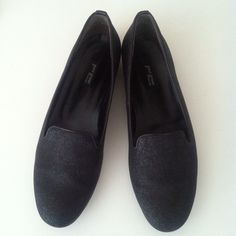 Paul Green Sparkle Loafers UK size 5 (US 7.5). Half inch heel. Excellent condition! Slight wear on bottoms but other than that no flaws! Made in Austria. Leather upper. Paul Green Shoes Flats & Loafers