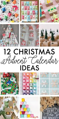 12 Christmas Advent Calendar Ideas on Love the Day