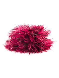 it's a hat! - Chanel Maison Lemarié Magenta Feather hat \\