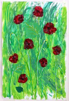 Ma petite maternelle: Marché aux fleurs Art Plastique, Floral, Painting, Flower Market, October 15, Spring, Thursday, Greenhouses, Florals