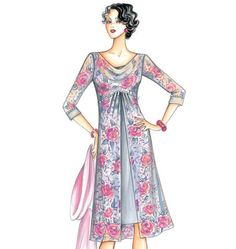 Marfy Dress----Marfy new fall/winter patterns!!    I LOVE Marfy designs!!!