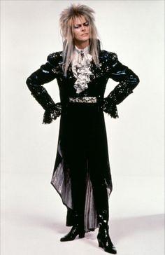 David Bowie as The Goblin King