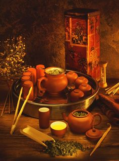 Moroccan Tea cup & Tea Pot