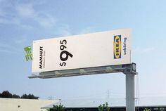 I love this IKEA USA billboard (2003)