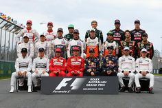 2014 Formula One Pilots/Teams