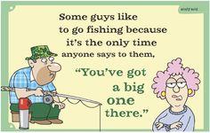 HAHAHAHAHAHAHAHA SORRY BUT I JUST HAD TO! THATS HILARIOUS I GUESS CUZ OF ALL THE FISHERMEN IN MY LIFE! LOL!