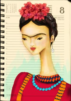 Frida illustration by Renia