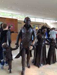 Statue of Gorgewashington was pretty neat.