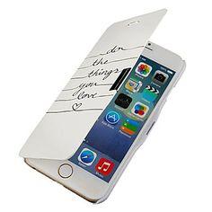 leer del tirón magnético del caso de la música de todo el cuerpo con el agujero para el iphone 6 – EUR € 5.75