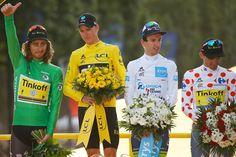 Tour de France 2016 - Peter Sagan - víťaz bodovacej súťaže ( zelený dres )