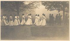 Bryn Mawr College Parade Night, c. 1911.
