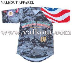 09c75e6e3 Digital Printing Free Design Mesh Custom Baseball Jersey | Valkout Apparel  Co. ,Ltd - Custom Sublimated Fishing Jerseys, Sublimated T Shirts, ...
