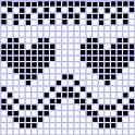 Crochet Heart Graph Fair Isles 55 Ideas For 2019 Crochet Chart, Free Crochet, Crochet Patterns, Fair Isle Knitting Patterns, Knitting Charts, Crochet Minecraft, Sunburst Granny Square, Easy Knitting Projects, Crochet Socks