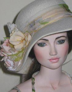 Original handmade artist ball-jointed porcelain doll by Galina Zaharova, via Flickr