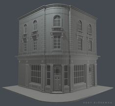 Little French Bistro Low poly environment https://www.facebook.com/bjorkmanart