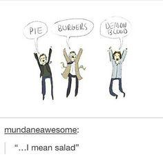...I mean salad!