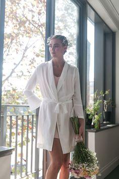 Cara Short Bridal Robe in Powder Blue Bridal Robes, Blush Pink, Campaign, Product Launch, Pockets, Tie, Phone, Natural, Fall