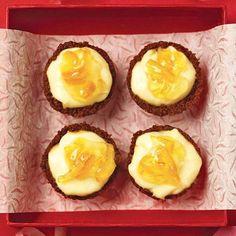 Orange-Ginger Baby Cheesecakes