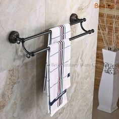 51.35$  Watch more here - http://ais2b.worlditems.win/all/product.php?id=32563965011 - Beelee BL8402B  60CM Brass Wall Mounted Bathroom Towel Rack/Holder/Shelf With Towel Bar Oil Rubbed Bronze