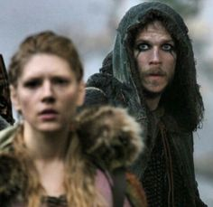 Lagertha and Floki, Vikings