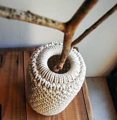 DIY Crochet Vase