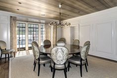 Next to that is a large dining room — perfect for dinner parties.
