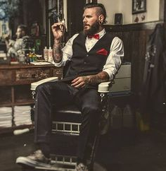classy mens fashion that look cool 424861 Boden Clothing, Cigar Men, Great Beards, Beard Tattoo, Tattoo Man, Male Model, Male Photography, Beard Styles, Fashion Stylist