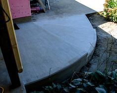 concrete steps arching a corner - Google Search