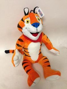 Kellogg's Tony Tiger advertising doll promo.