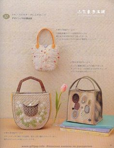 lovely patchwork bags