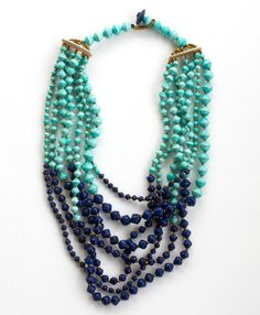 Tushabe Layered Necklace - Perfect Statement Necklace for Spring!!!!