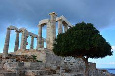 Poseidon temple, Sounion, Greece