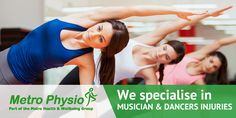 Metro Physio Specialise In Musician And Dancers Injuries. Greater Manchester And Merseyside. www.metrophysio.co.uk