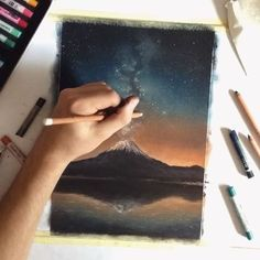 My first time lapse video , enjoy! _______________ Toison D'Or soft pastels and Faber-Castell pitt pastel pencils on canson pastel paper