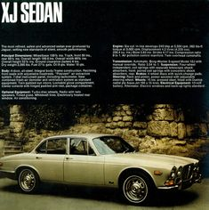 1970 Jaguar XJ Sedan