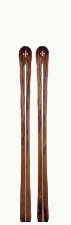 Wood is one of the most beautiful materials to work with. These skis are simply beautiful.