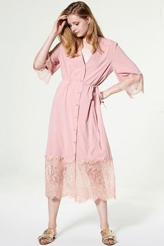 Bonnie Longline Robe Dress Discover the latest fashion trends online at storets.com